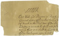 Autographs:Non-American, Queen Anne of England Signature,...