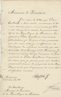 Autographs:Non-American, King Haakon VII of Norway Document Signed,...