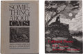 Books:First Editions, H. P. Lovecraft. Two Short Story and Poetry First Editions,including: Something About Cats and Other Pieces; Co...(Total: 2 Items)