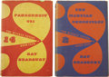 Books:Fiction, Ray Bradbury. Two Classic Science Fiction Book Club Titles,including: The Martian Chronicles.... (Total: 2 Items)
