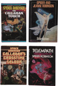 Books:First Editions, Spider Robinson. Four Science-Fiction First Editions,... (Total: 4Items)