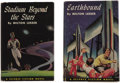 Books:First Editions, Milton Lesser. Two First Editions, including: Earthbound;Stadium Beyond the Stars. Philadelphia: The John C...(Total: 2 Items)