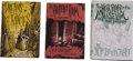 Books:First Editions, H. P. Lovecraft. Three First Editions, including: The ShutteredRoom and Other Pieces; Dreams and Fancies; ... (Total: 3Items)