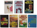 Books:First Editions, John D. MacDonald. Seven Travis McGee First Editions,... (Total: 7Items)