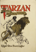 Books:First Editions, Edgar Rice Burroughs. Tarzan and the Golden Lion. Chicago:A. C. McClurg & Co., 1923....