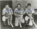 """Autographs:Photos, Stan Musial, Enos Slaughter, and Terry Moore Signed PhotographCardinals. Quite an All-Star line up is depicted on the 8x10""""..."""