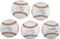 Autographs:Baseballs, Jim Palmer Single Signed Baseballs Lot of 5. Having played hisentire big league career with the Baltimore Orioles, Jim Palm...