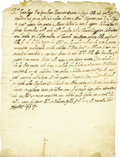 Autographs:Non-American, Pope Sixtus V Letter Signed as Pope....