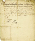 Autographs:Non-American, Maria Theresa of Austria Manuscript Document Signed ...