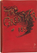 Books:First Editions, Philip Howard Colomb, J. F. Maurice, F. N. Maude, et al. TheGreat War of 189-: A Forecast. London: William Hein...