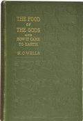 Books:First Editions, H. G. Wells. The Food of the Gods and How it Came to Earth.London: Macmillan and Co., Limited, 1904.. ...