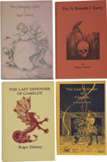 Books:First Editions, Roger Zelazny. Four Limited First Editions, Three Signed,...(Total: 4 Items)