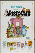 """Movie Posters:Animated, The Aristocats (Buena Vista, R-1973). One Sheet (27"""" X 41""""). Animated...."""