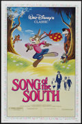 "Movie Posters:Animated, Song of the South (Buena Vista, R-1986). One Sheet (27"" X 41"").Animated...."