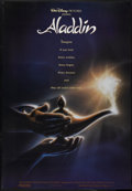 "Movie Posters:Animated, Aladdin (Buena Vista, 1992). One Sheet (27"" X 40"") DS. Animated...."