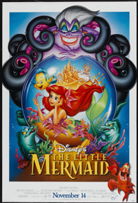 "The Little Mermaid (Buena Vista, 1989). One Sheet (27"" X 40"") DS. Animated"