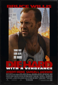 """Die Hard With a Vengeance (20th Century Fox, 1995). One Sheet (27"""" X 40"""") DS. Action"""
