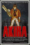 "Movie Posters:Animated, Akira (Streamline Pictures, 1989). One Sheet (27"" X 41"").Animated...."