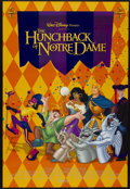 "Movie Posters:Animated, The Hunchback of Notre Dame (Buena Vista, 1996). One Sheet (27"" X40"") DS. Animated...."