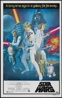 "Star Wars (20th Century Fox, 1977). Australian One Sheet (27"" X 40""). Science Fiction"