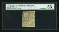 Colonial Notes:Connecticut, Connecticut October 11, 1777 3d PMG About Uncirculated 53....