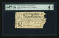 Colonial Notes:North Carolina, North Carolina March 9, 1754 15s PMG Good Net 4....