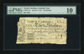 Colonial Notes:North Carolina, North Carolina March 9, 1754 30s PMG Very Good 10....