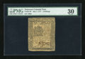 Colonial Notes:Delaware, Delaware May 1, 1777 4s PMG Very Fine 30....