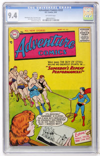Adventure Comics #222 (DC, 1956) CGC NM 9.4 Off-white pages