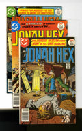 Bronze Age (1970-1979):Western, Jonah Hex #1-4 Signed Copies Group (DC, 1977) Condition: Average FN/VF.... (Total: 4 Comic Books)