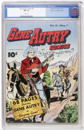Golden Age (1938-1955):Western, Gene Autry Comics #8 Mile High copy (Fawcett, 1943) CGC NM 9.4White pages....