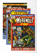 Bronze Age (1970-1979):Horror, Werewolf by Night #1-3 Group (Marvel, 1972-73) Condition: AverageVF.... (Total: 3 Comic Books)