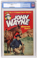 Golden Age (1938-1955):Western, John Wayne Adventure Comics #2 (Toby Publishing, 1950) CGC NM 9.4Off-white pages....