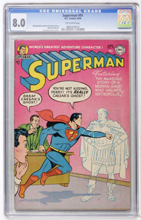 Superman #91 (DC, 1954) CGC VF 8.0 Off-white pages