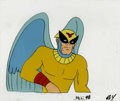 animation art:Production Cel, Birdman Animation Production Cel Original Art (Hanna-Barbera,undated)....
