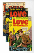 Golden Age (1938-1955):Romance, True Love Problems and Advice Illustrated and Romance Stories ofTrue Love - File Copy Group (Harvey, 1951-58) Condition: Aver...(Total: 39 Comic Books)