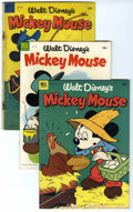 Golden Age (1938-1955):Cartoon Character, Mickey Mouse and Related Titles Group (Dell/Gold Key, 1953-68)Condition: Average GD+.... (Total: 36 Comic Books)