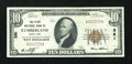 National Bank Notes:Maryland, Cumberland, MD - $10 1929 Ty. 1 The First NB Ch. # 381. ...