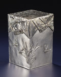 Silver Holloware, Continental:Holloware, A RUSSIAN TROMPE L'OEIL SILVER BOX WITH COVER. Pavel AkimovOvchinnikov, circa 1900. Marks: P.OVCHINNIKOV (i...