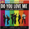 Music Memorabilia:Recordings, Contours Do You Love Me Mono LP (Gordy 901, 1962). One of Rock/R&B's most enduring songs, the title cut rose to ... (Total: 1 Item)