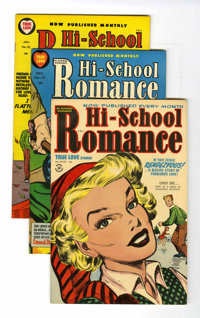 Hi-School Romance #25 and 34-75 File Copies Group (Harvey, 1954-58) Condition: Average VF/NM.... (Total: 43 Comic Books)