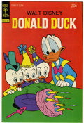 Bronze Age (1970-1979):Cartoon Character, Donald Duck #154 Signed by Carl Barks (Gold Key, 1974) Condition:VF....