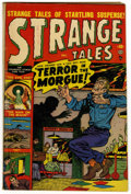 Golden Age (1938-1955):Horror, Strange Tales #4 (Marvel, 1951) Condition: GD/VG....