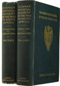 Books:Non-American Editions, Two Volume Set of German Official Account of the War in SouthAfrica,... (Total: 2 Items)
