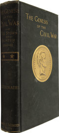 Books:First Editions, Samuel Wylie Crawford. The Genesis of the Civil War. TheStory of Sumter 1860-1861. New York: Charle...