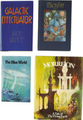 Books:First Editions, Jack Vance. Four Underwood / Miller First Editions, Three Signed,including: Galactic Effectuator, City of Chasc... (Total:4 Items)