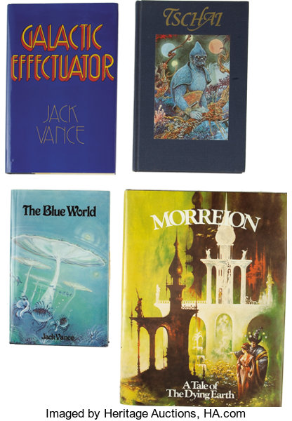 Jack Vance  Four Underwood / Miller First Editions, Three