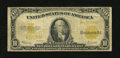 Large Size:Gold Certificates, Fr. 1173* $10 1922 Gold Certificate Star Note Very Good. This is a note which is underestimated in terms of scarcity. A bit ...