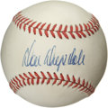 Autographs:Baseballs, Don Drysdale Single Signed Baseball. Long-time Dodgers ace DonDrysdale offers his high-quality signature on the sweet spot...