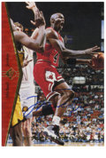 Basketball Collectibles:Others, 1994-95 SP Signed Michael Jordan #MJ1-Red. Special Jordan card from the 1994-95 SP basketball issue made for His Airness is...